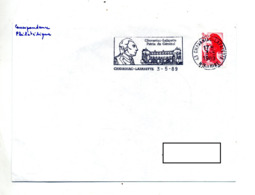 Lettre Flamme  Chavaniac Lafayette Patrie General - Poststempel (Briefe)