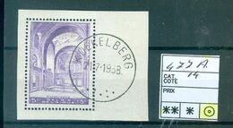 477A Oblitéré Sup Côte 14.00€ - Unclassified