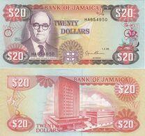 Jamaica - 20 Dollars 1995 P. 72e UNC Lemberg-Zp - Giamaica
