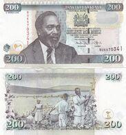 Kenya - 200 Shillings 2008 UNC P. 49c Lemberg-Zp - Kenia