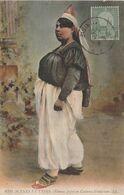 CPA Femme Juive En Costume D' Intérieur Jewish Judaïca Scènes Et Types (2 Scans) - Jewish