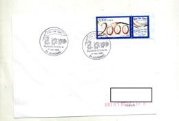 Lettre Cachet  Juvignac Vive 2000 - Cachets Commémoratifs