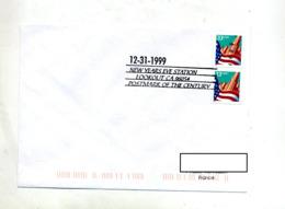 Lettre Cachet  Lookout Station  31/12/1999 - Marcophilie
