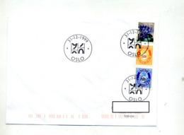 Lettre Cachet Oslo Passage De 1999 à 2000 - Lettres & Documents