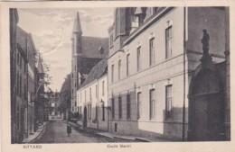 482280Sittard, Oude Markt. 1929. (linksboven Doordruk Stempel) - Sittard