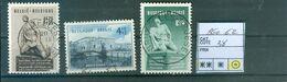 860-862 Oblitéré  Super Côte 38.00€ - Belgium