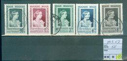 863-867 Oblitéré   Côte 56.00€ - Belgium