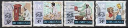 Rhodesia 1974 Complete Set Of Stamps To Celebrate Centenary Of The UPU In Fine Used Condition. - Rhodesië (1964-1980)