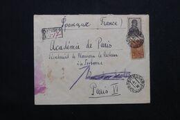 U.R.S.S. - Enveloppe En Recommandé De Moscou Pour La France En 1936  - L 69566 - Briefe U. Dokumente