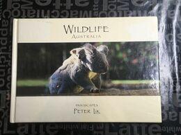 (Book) Wildlife Australia By Peter Lik (animals Photos Such As Crocodile - Wombat - Devils Etc) - 22x16cm - 300 G - Books, Magazines, Comics