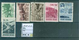918-923 Oblitéré   Côte 43.00€ - Belgium