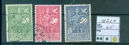 927-929 Oblitéré   Côte 45.00€ - Belgium
