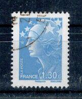 2009 N 4344 MARIANNE BEAUJARD 1.30 BLEU OBLITERE CACHET ROND #230# - Frankreich