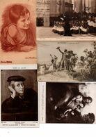 PEINTURE...TABLEAUX.......LOT DE 100 CPA.........VOIR DETAIL........LOT 509 - Peintures & Tableaux