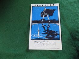 VINTAGE UK CORNWALL: TINTAGEL King Arthur Excalibur Art Arthur Wragg Polperro Press - Otros