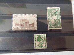 Vignettes  PTT  Douanes  Loterie - Commemorative Labels