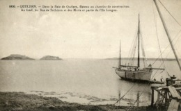 Quélern - Dans La Baie De Quélern, Bateau En Chantier De Construction - Sonstige Gemeinden
