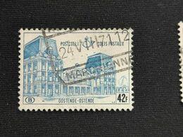 Timbre Belgique N° 408 1972 Chemin De Fer - 1952-....