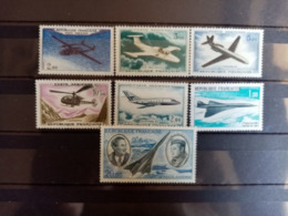 FRANCE.1960 à 1970. Poste Aèrienne N° 38 à 44 . NEUFS++ Côte Yvert 31  € - 1960-.... Nuevos