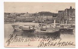 Cartolina/Postcard - Viaggiata (sent) - Napoli, Porto Militare, Ragozino Edit. - Napoli (Naples)