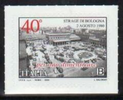 Italia Italy 2020 Strage Di Bologna Terrorismo Stazione Ferrovia Massacre Terrorism Station Railway Terrorisme FRB00045 - Geschiedenis