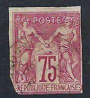 FRANCE Ex-Colonies Générales: Le Y&T 28, Obl. CAD - Sage