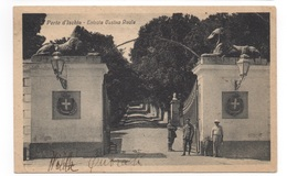 Cartolina/Postcard - Viaggiata (sent) - Porto D'Ischia, Entrata Casina Reale - Altre Città