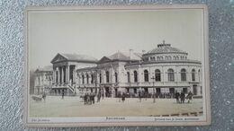 PHOTO 19 EME SIECLE COLLEE SUR CARTON - AMSTERDAM - AQUARIUM - PAYS BAS - HOLLANDE - JAGER PHOTOGRAPHE - Alte (vor 1900)