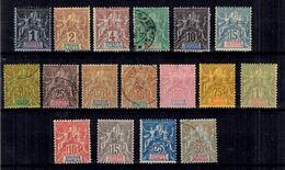 Soudan Français Maury N° 3/15 Et N° 16/19 Neufs */oblitérés. B/TB. A Saisir! - Soudan (1894-1902)