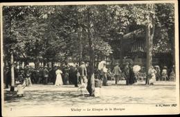 Cp Vichy Allier, Le Kiosque De La Musique - Sonstige Gemeinden