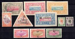 Côte Des Somalis  Belle Petite Collection De Bonnes Valeurs Anciennes Neufs */oblitérés 1894/1927. B/TB. A Saisir! - Côte Française Des Somalis (1894-1967)