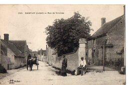 2541 - SAINT-AY (Loiret) - Rue De Voisinas - Francia