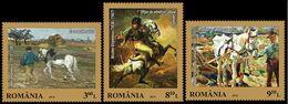 Romania 2015. Painting. Horses.   MNH - 1948-.... Republiken