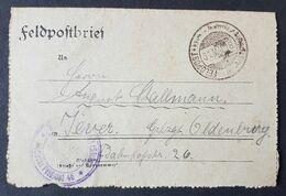 Feldpostbrief Strafgefangenen-Arbeiter Batl. Nr. 2, 31.5.18 - Allemagne