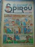 Le Journal De SPIROU - 1ère Année - N° 23 - 22 Septembre 1938 - RARE - ROB VEL - F. DINEUR - Lire Le Descriptif - Spirou Magazine
