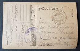 Feldpostbrief Strafgefangenen-Arbeiter Batl. Nr. 2, 30.7.18 - Allemagne