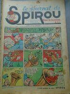 Le Journal De SPIROU - 1ère Année - N° 22 - 15 Septembre 1938 - RARE - ROB VEL - F. DINEUR - Lire Le Descriptif - Spirou Magazine