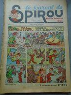 Le Journal De SPIROU - 1ère Année - N° 20 - 1 Septembre 1938 - RARE - ROB VEL - F. DINEUR - Lire Le Descriptif - Spirou Magazine