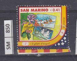SAN MARINO      2003Natale Immagine 7 Usato - San Marino