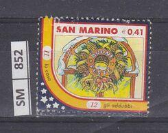 SAN MARINO      2003Natale Immagine 12 Usato - San Marino