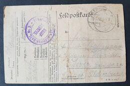 Feldpostbrief Strafgefangenen-Arbeiter Batl. Nr. 2, 18.6.18 - Allemagne