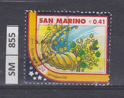 SAN MARINO      2003Natale Immagine 24 Usato - San Marino