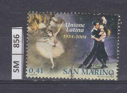SAN MARINO      2004Unione Latina 0,41 Usato - San Marino