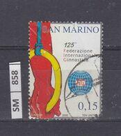 SAN MARINO      2006Federazione Ginnastica 0,15 Usato - San Marino