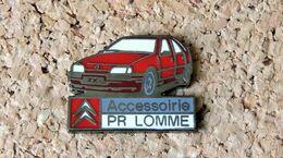 Pin's CITROËN ZX Accessoirie PR LOMME - émail à Froid époxy - Fabricant CFFD - Citroën