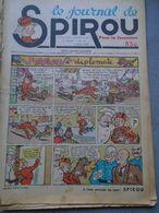 Le Journal De SPIROU - 1ère Année - N° 12 - 7 Juillet 1938 - RARE - ROB VEL - F.DINEUR - Lire Le Descriptif - Spirou Magazine