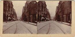 Photo Stéreo Le Havre Rue De Paris  11 Mai 1905 - Fotos Estereoscópicas