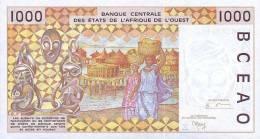WEST AFRICAN STATES P. 711Kk  1000 F 2001 UNC - Senegal