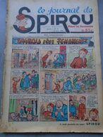 Le Journal De SPIROU - 1ère Année - N° 10 - 23 Juin 1938 - RARE - ROB VEL - F.DINEUR - Lire Le Descriptif - Spirou Magazine