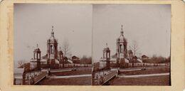 Photo Stéreo Rouen Monument De Jeanne D'arc 1907 - Photos Stéréoscopiques